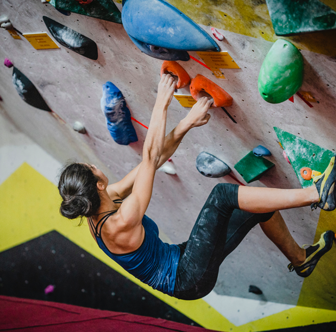 Mental Health and Training for Beginning Climbers
